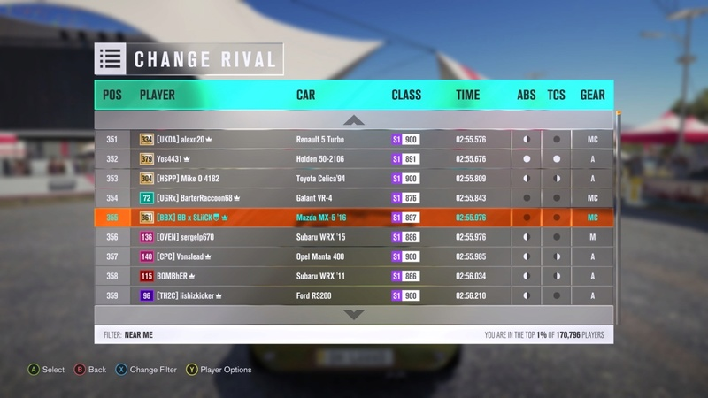 (FH3) RWD/FWD Restricted Reservoir Trail Attack (Results Up) Image29