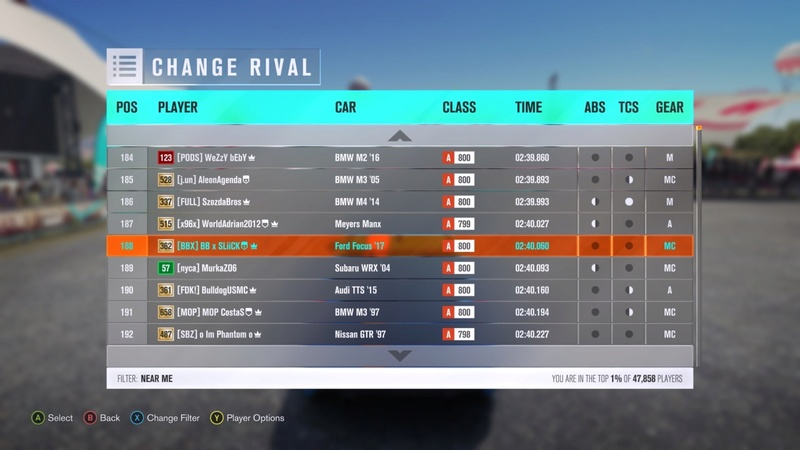 (FH3) MNM Leaderboard Attack #3 (Results Up) Image30
