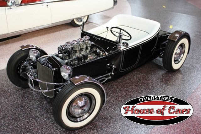 """1927 FORD MODEL T - THE ORIGINAL """"BLACK WIDOW"""" - Wally Olson - Bill Scott 0111"""