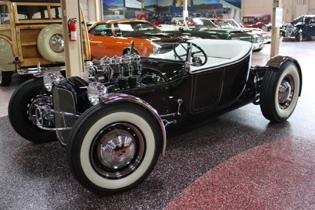 """1927 FORD MODEL T - THE ORIGINAL """"BLACK WIDOW"""" - Wally Olson - Bill Scott 0211"""