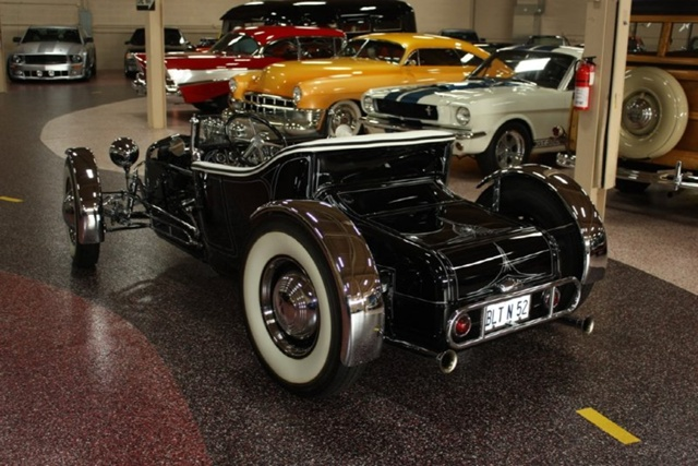 """1927 FORD MODEL T - THE ORIGINAL """"BLACK WIDOW"""" - Wally Olson - Bill Scott 0311"""