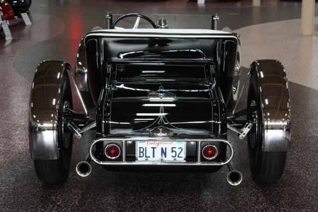 """1927 FORD MODEL T - THE ORIGINAL """"BLACK WIDOW"""" - Wally Olson - Bill Scott 0510"""