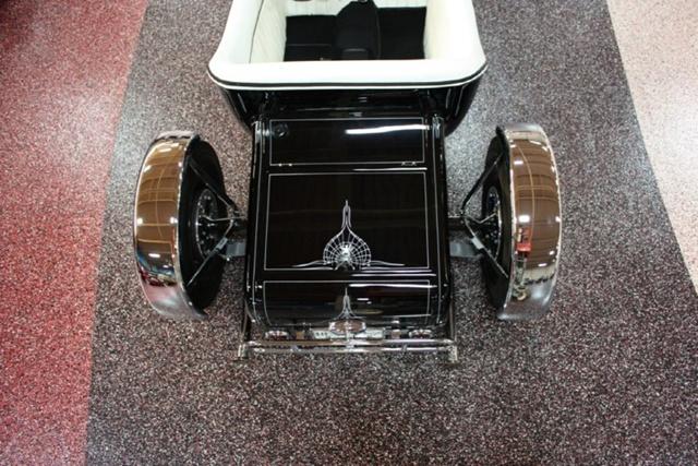 """1927 FORD MODEL T - THE ORIGINAL """"BLACK WIDOW"""" - Wally Olson - Bill Scott 0911"""