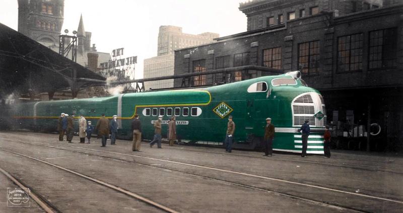 Locomotives et trains vintages - Page 3 10896410
