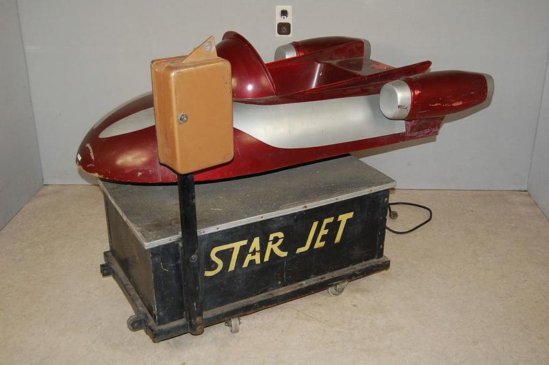 Kiddy ride star Jet kiddyride - Avion fusée de manège 110