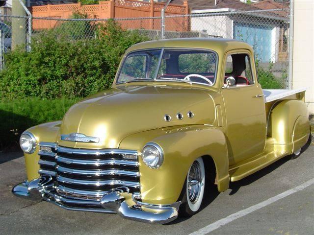 Chevy Pick up 1947 - 1954 custom & mild custom - Page 4 14925210
