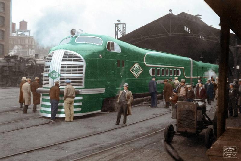 Locomotives et trains vintages - Page 3 15039514
