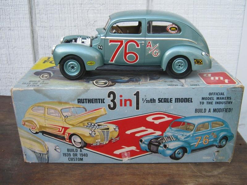 Vintage built automobile model kit survivor - Hot rod et Custom car maquettes montées anciennes - Page 8 15068910