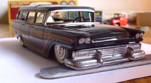 Vintage built automobile model kit survivor - Hot rod et Custom car maquettes montées anciennes - Page 8 15078711