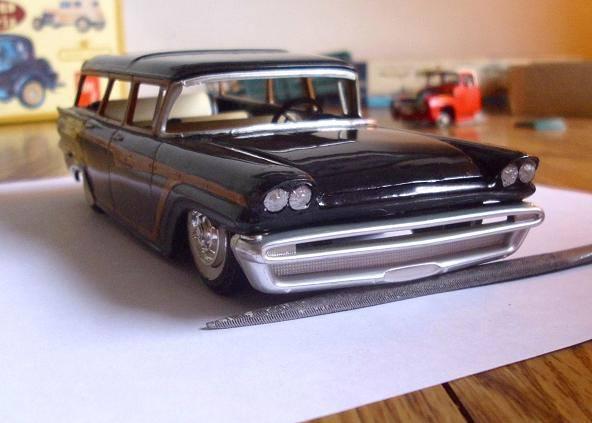 Vintage built automobile model kit survivor - Hot rod et Custom car maquettes montées anciennes - Page 8 15107312