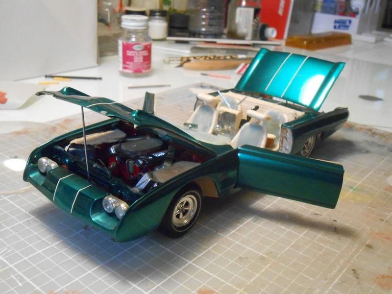 Vintage built automobile model kit survivor - Hot rod et Custom car maquettes montées anciennes - Page 8 15129010