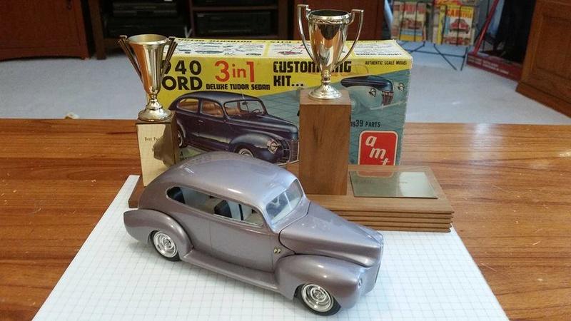 Vintage built automobile model kit survivor - Hot rod et Custom car maquettes montées anciennes - Page 8 15135711