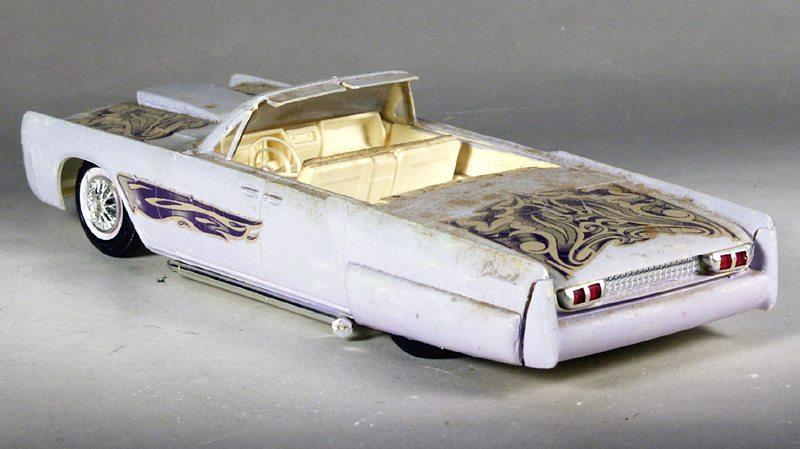 Vintage built automobile model kit survivor - Hot rod et Custom car maquettes montées anciennes - Page 8 15135910