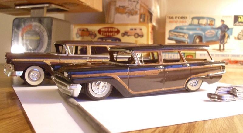 Vintage built automobile model kit survivor - Hot rod et Custom car maquettes montées anciennes - Page 8 15137410