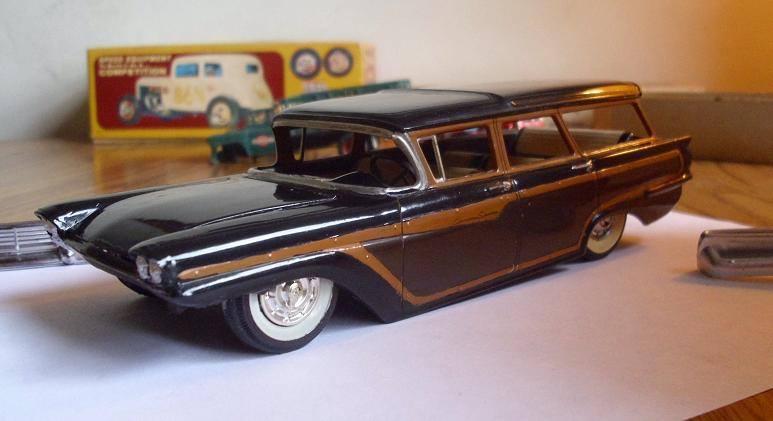 Vintage built automobile model kit survivor - Hot rod et Custom car maquettes montées anciennes - Page 8 15170712
