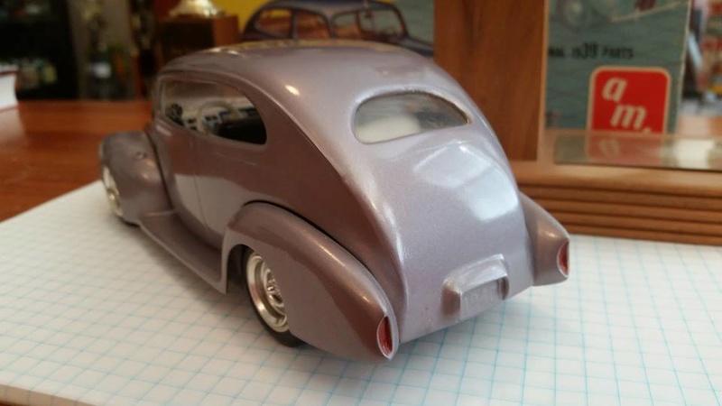 Vintage built automobile model kit survivor - Hot rod et Custom car maquettes montées anciennes - Page 8 15170810