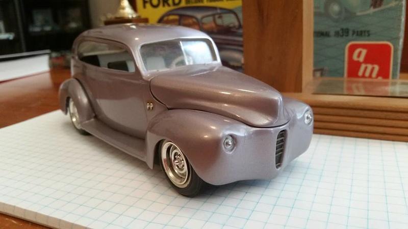 Vintage built automobile model kit survivor - Hot rod et Custom car maquettes montées anciennes - Page 8 15181111