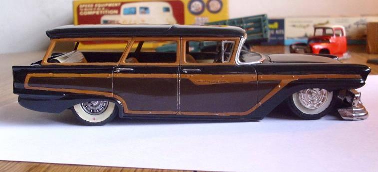 Vintage built automobile model kit survivor - Hot rod et Custom car maquettes montées anciennes - Page 8 15202510