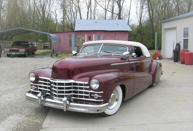 Cadillac 1941 - 47 custom & mild custom 15541910