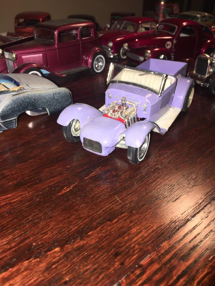 Vintage built automobile model kit survivor - Hot rod et Custom car maquettes montées anciennes - Page 8 15578510