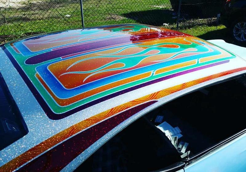 auto's crazy paint - peinture de fou sur carrosseries 15823210