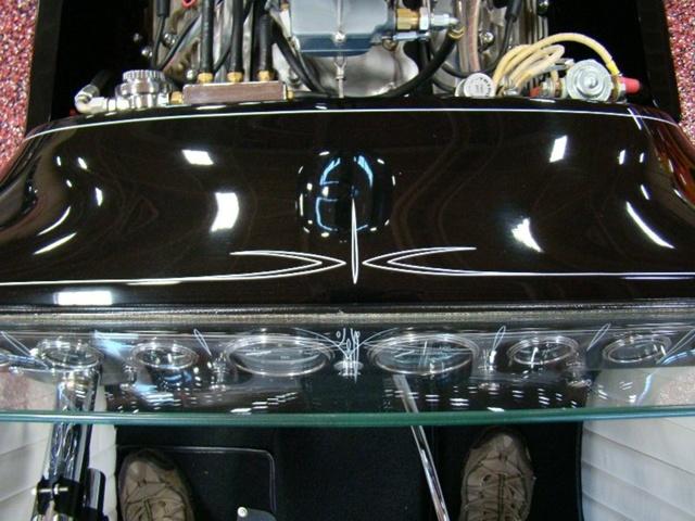 """1927 FORD MODEL T - THE ORIGINAL """"BLACK WIDOW"""" - Wally Olson - Bill Scott 2612"""