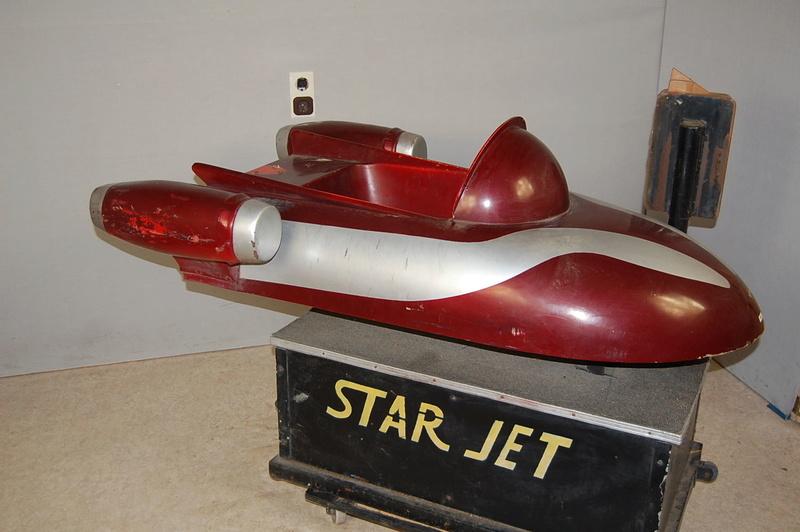 Kiddy ride star Jet kiddyride - Avion fusée de manège 310