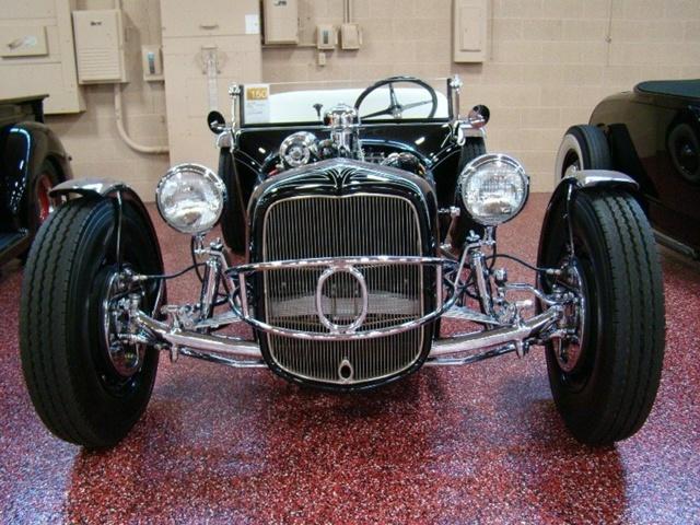 """1927 FORD MODEL T - THE ORIGINAL """"BLACK WIDOW"""" - Wally Olson - Bill Scott 3612"""