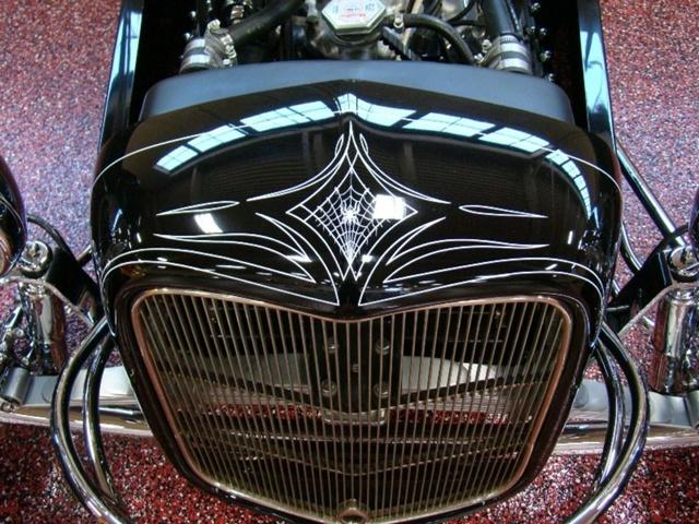 """1927 FORD MODEL T - THE ORIGINAL """"BLACK WIDOW"""" - Wally Olson - Bill Scott 3812"""