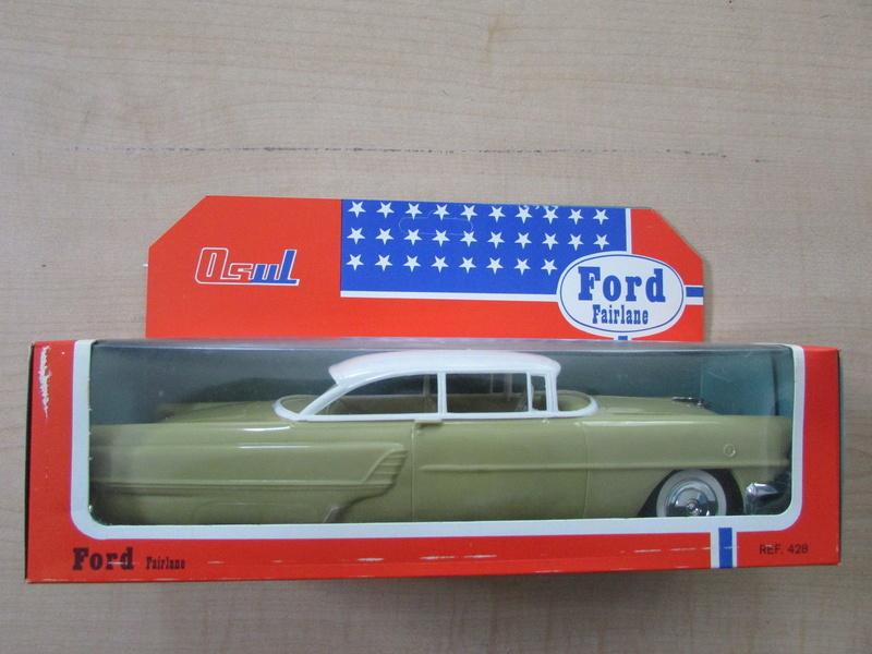 1955 Mercury Montclair OSUL 1960's Portugal plastic toys 433