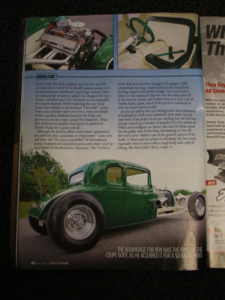 1932 Chevrolet 5 Window Coupe  - Ben Smithson 48002710