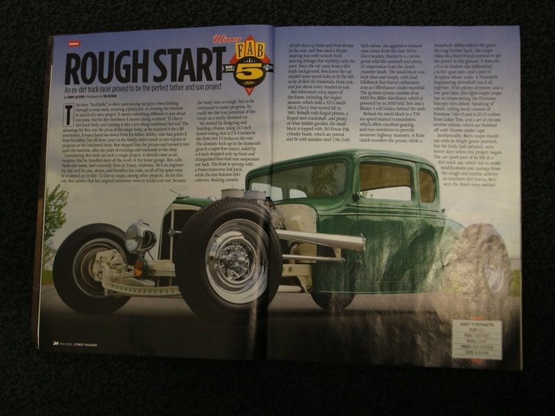 1932 Chevrolet 5 Window Coupe - Ben Smithson