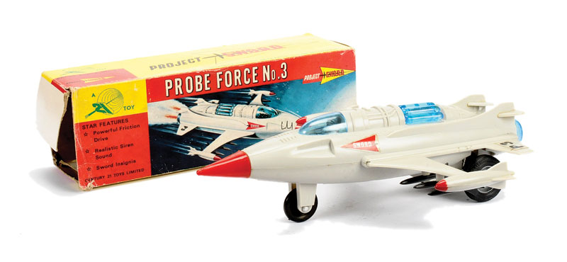 Century 21 Toys Gerry Anderson's Project Sword - Space age - Spaceship - Hong Kong 5135_l10