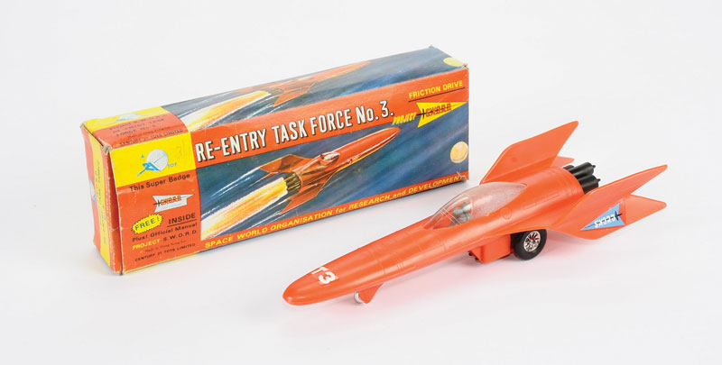 Century 21 Toys Gerry Anderson's Project Sword - Space age - Spaceship - Hong Kong 5207_l10