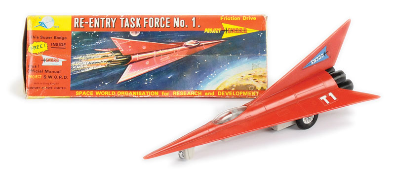 Century 21 Toys Gerry Anderson's Project Sword - Space age - Spaceship - Hong Kong 5208_l10