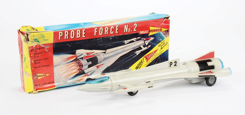 Century 21 Toys Gerry Anderson's Project Sword - Space age - Spaceship - Hong Kong 5209_l10