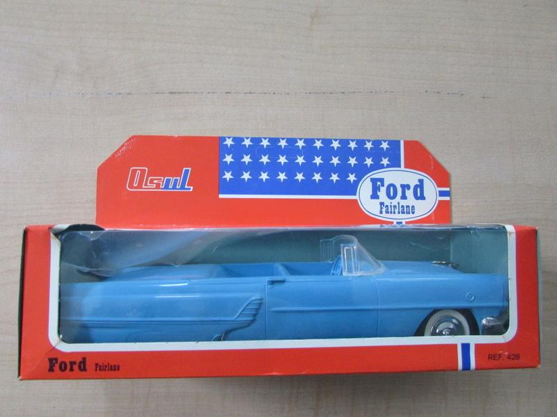 1955 Mercury Montclair OSUL 1960's Portugal plastic toys 632