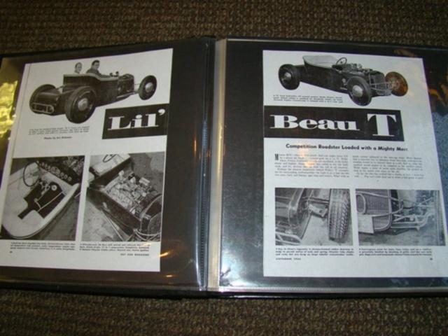 """1927 FORD MODEL T - THE ORIGINAL """"BLACK WIDOW"""" - Wally Olson - Bill Scott 6612"""