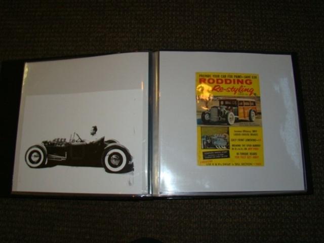 """1927 FORD MODEL T - THE ORIGINAL """"BLACK WIDOW"""" - Wally Olson - Bill Scott 6712"""