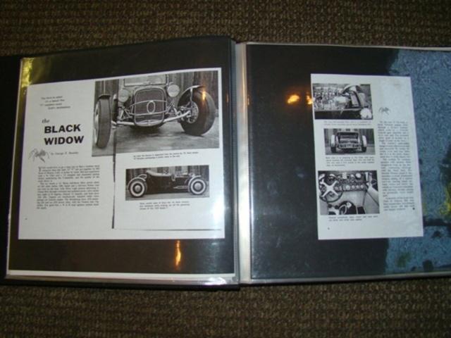 """1927 FORD MODEL T - THE ORIGINAL """"BLACK WIDOW"""" - Wally Olson - Bill Scott 6811"""