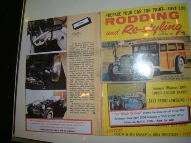 """1927 FORD MODEL T - THE ORIGINAL """"BLACK WIDOW"""" - Wally Olson - Bill Scott 6911"""
