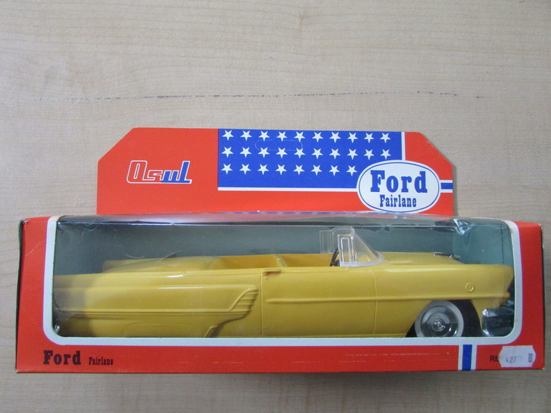 1955 Mercury Montclair OSUL 1960's Portugal plastic toys 731