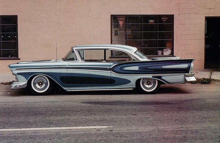 Ford 1957 & 1958 custom & mild custom  - Page 7 Archib11