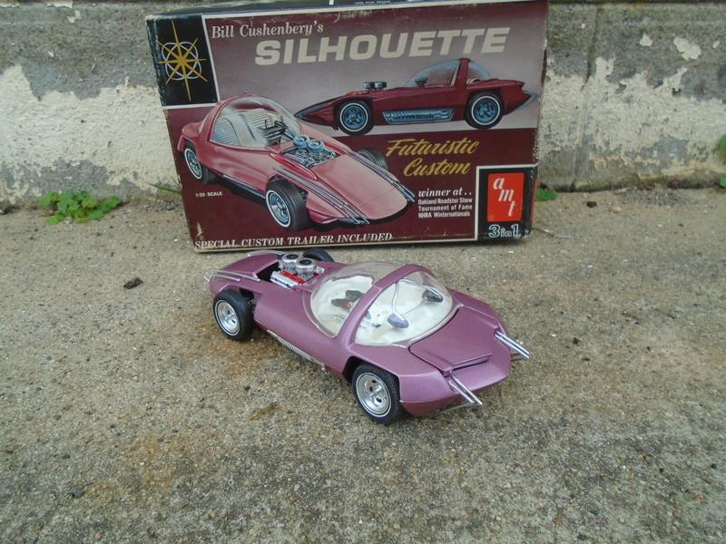 Silhouette - Bill Cuschenberry Show Car - Amt Dsc05627