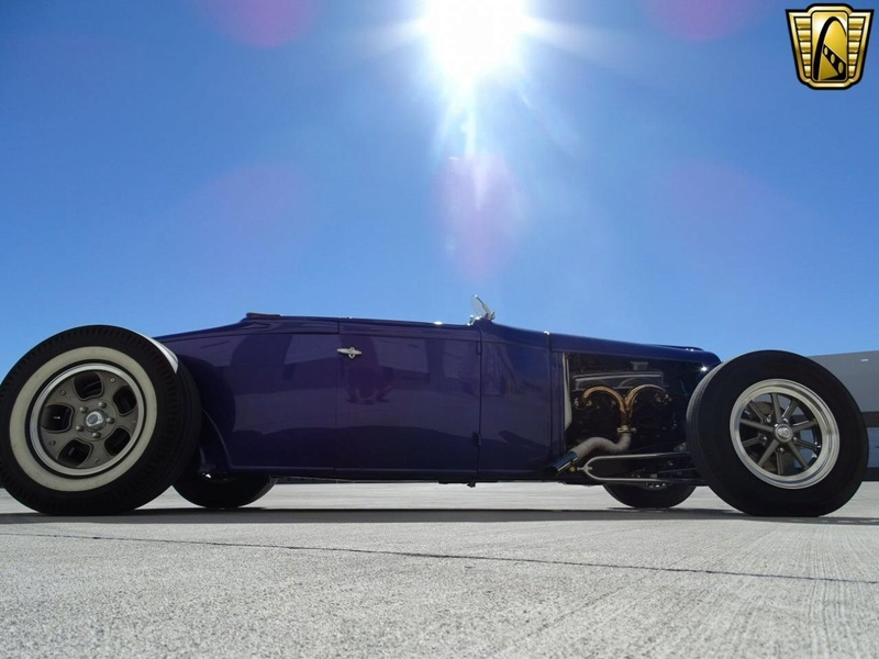 1931 Ford Model A Roadster - Bear Metal Kustoms  Gccdfw11