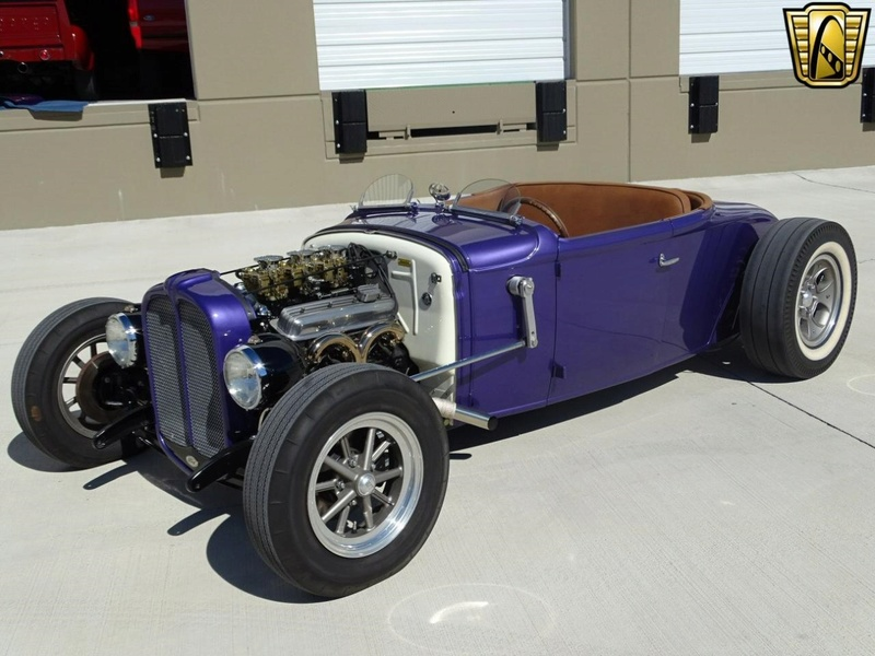1931 Ford Model A Roadster - Bear Metal Kustoms  Gccdfw27