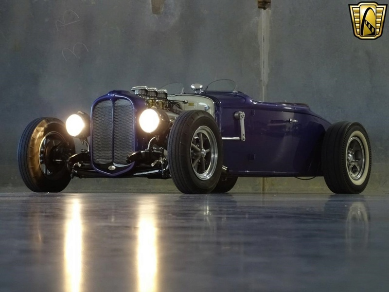 1931 Ford Model A Roadster - Bear Metal Kustoms  Gccdfw29