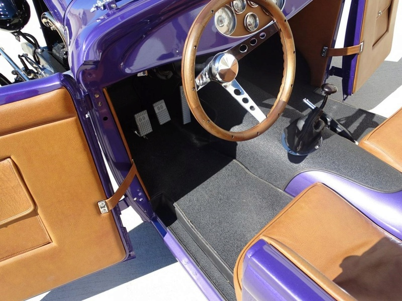 1931 Ford Model A Roadster - Bear Metal Kustoms  Gccdfw33