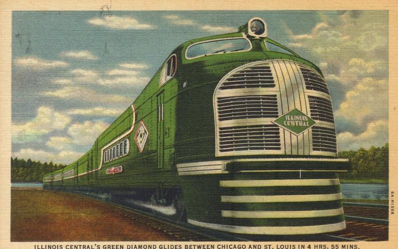 Locomotives et trains vintages - Page 3 Greend10