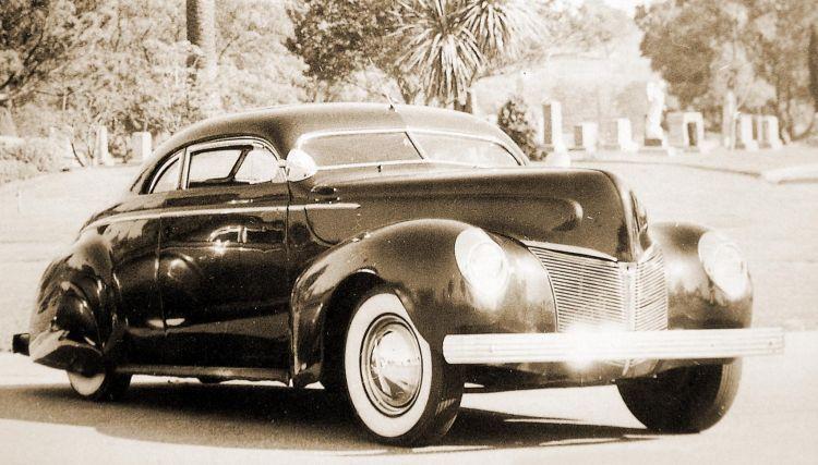 1940 Mercury -  Johnny Zaro - Barris Kustoms -  Kurt McCormick Johnny10